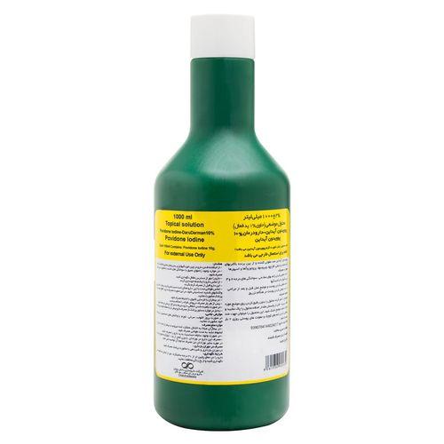 محلول ضدعفونی کننده دارو درمان مدل Povidone Iodine ده درصد حجم 1000 میلی لیتر