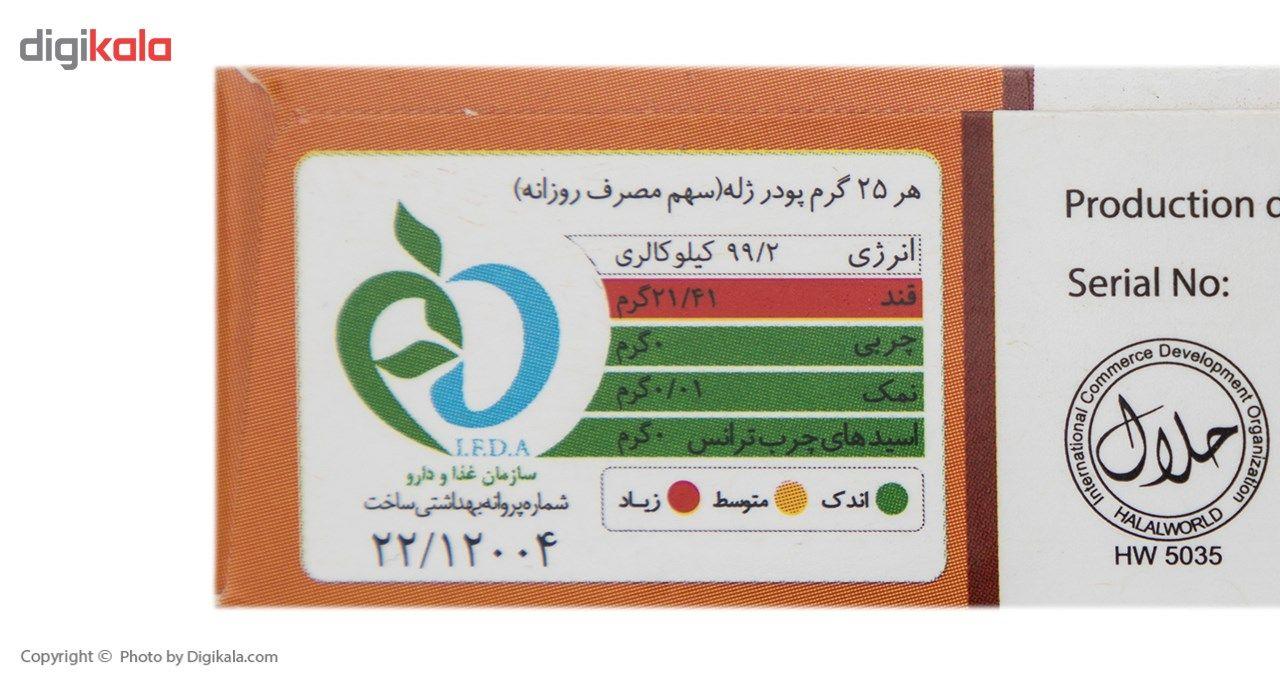 پودر ژله هلو هاتی کارا مقدار 100 گرم main 1 4