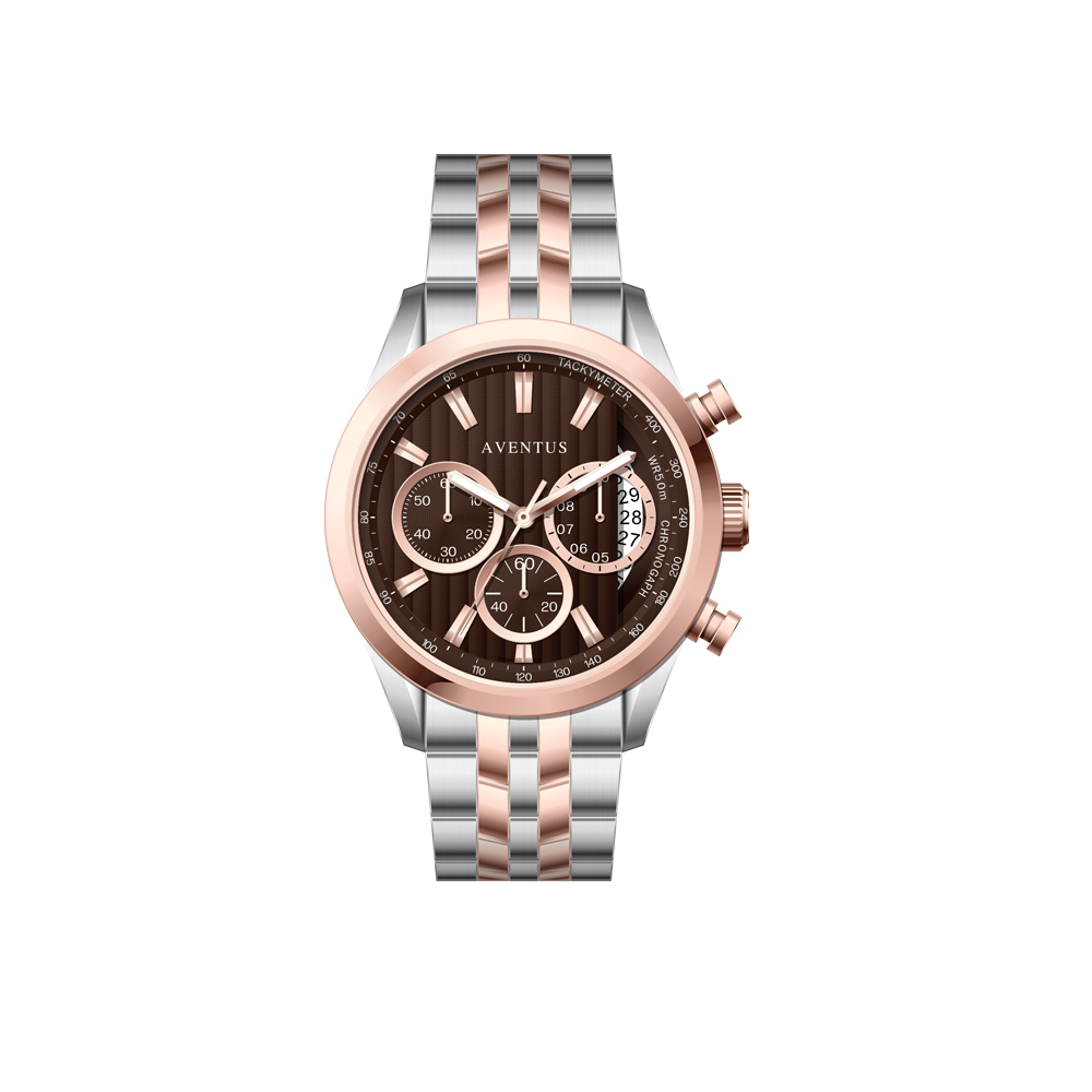 ساعت مچی عقربه ای مردانه اونتوس مدل 1346-6GBR