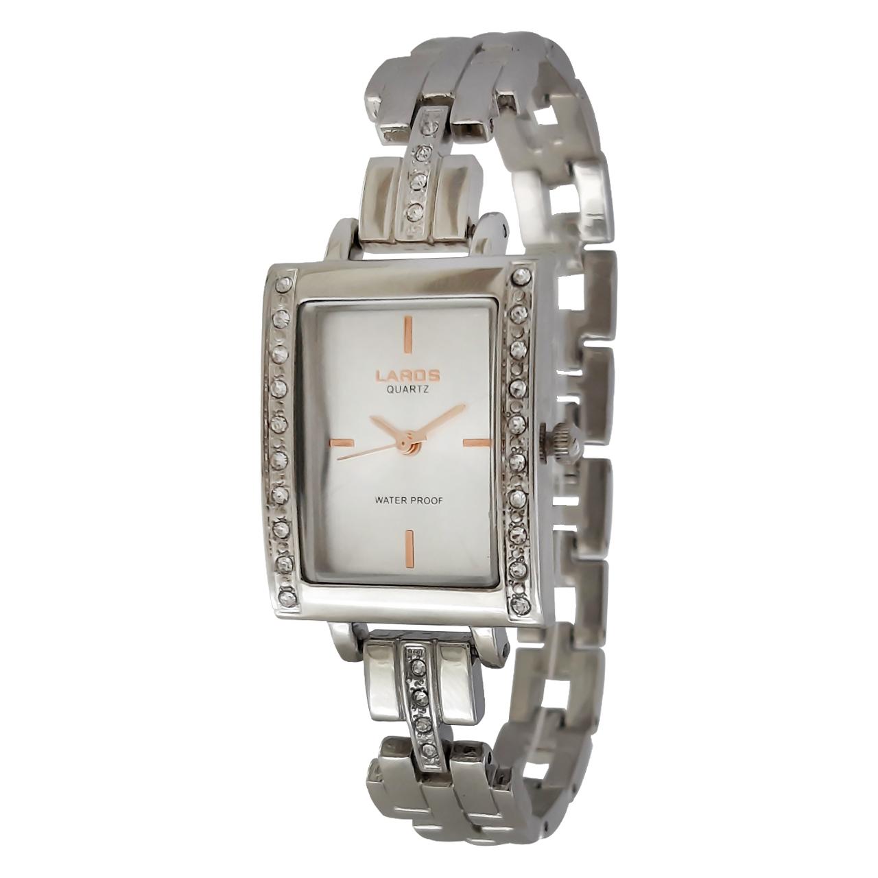 ساعت مچی عقربه ای عقربه رزگلد زنانه لاروس مدل 0816-79898              خرید (⭐️⭐️⭐️)