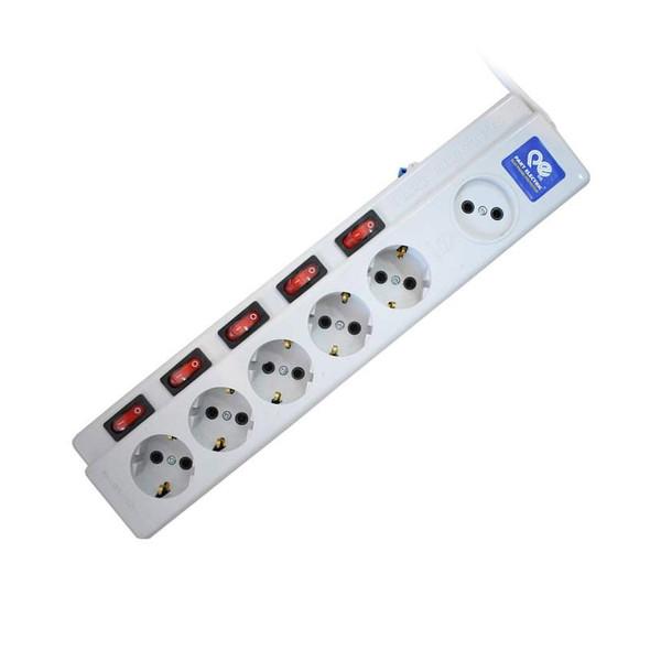 چندراهی برق پارت الکتریک مدل 5+1 کد 2095