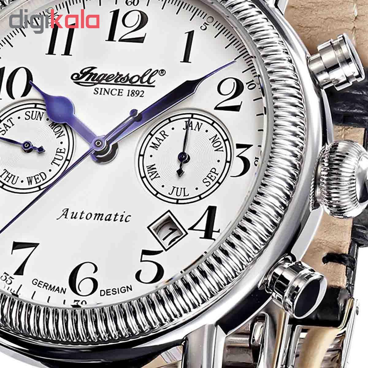 ساعت مچی عقربه ای مردانه اینگرل مدل IN1828WH
