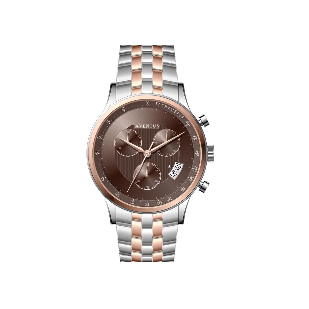 ساعت مچی عقربه ای مردانه اونتوس مدل 1350-6GBR 5