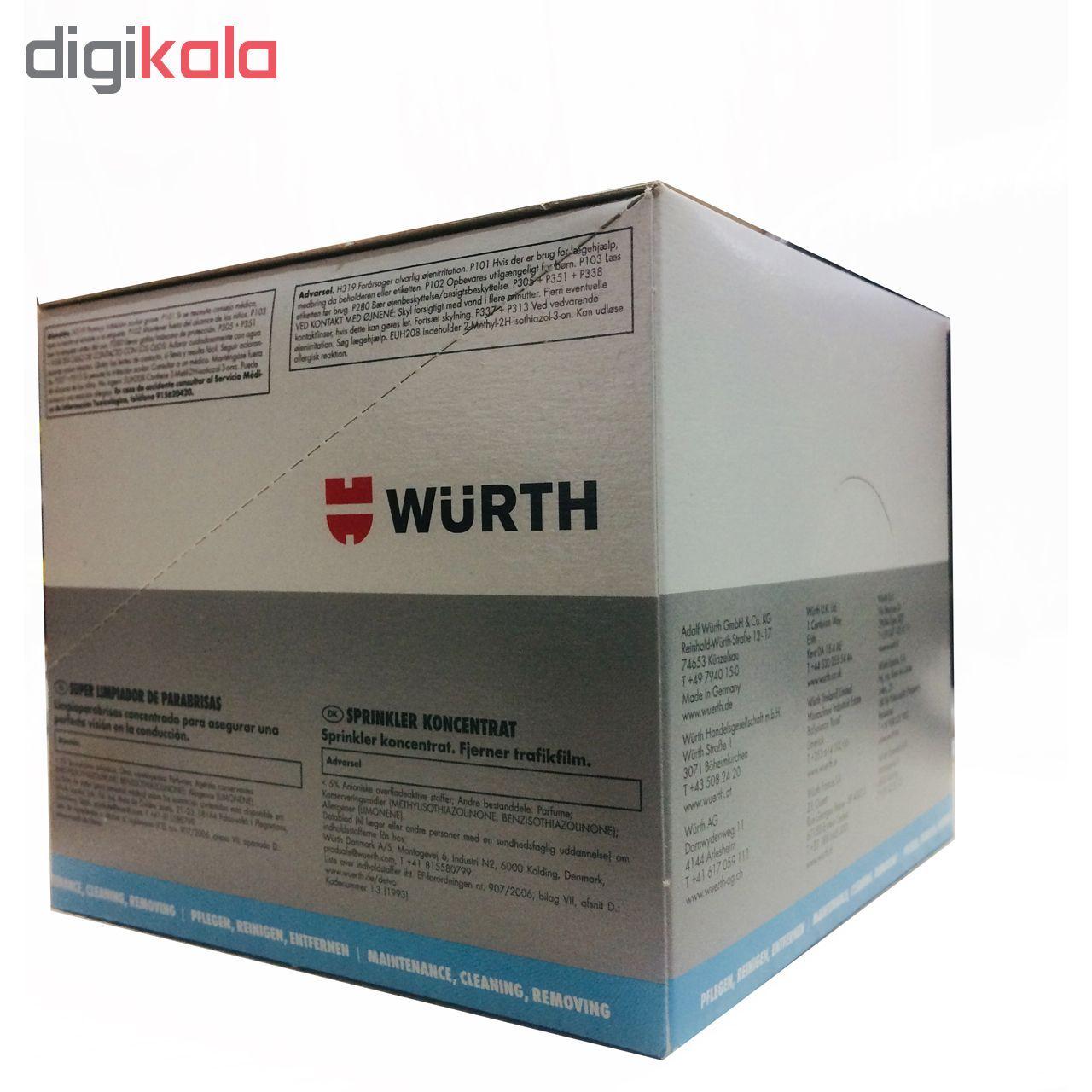 محلول شیشه شوی خودرو وورث مدل 892333 حجم 32 میلی لیتر  بسته 25 عددی main 1 2