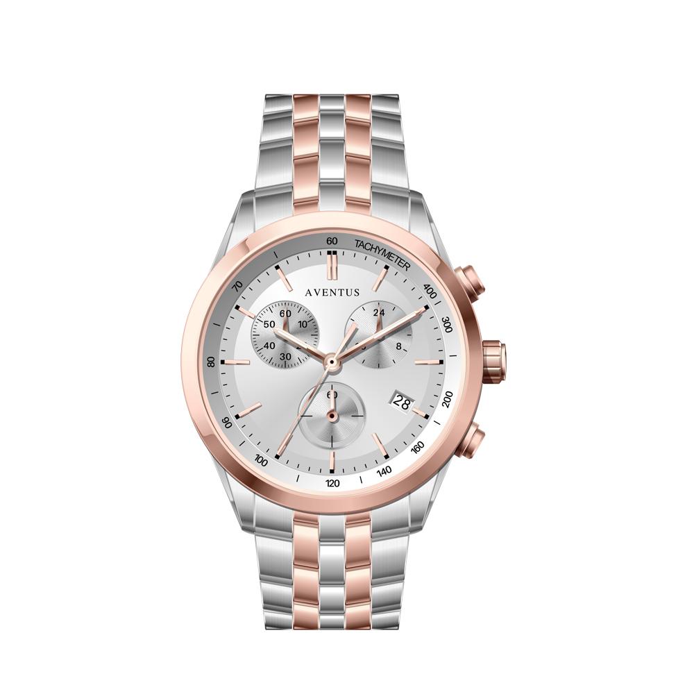 ساعت مچی عقربه ای مردانه اونتوس مدل 1351-6GWH 49