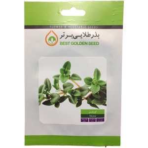 بذر گیاه دارویی آویشن بذر طلایی برتر کد BZT-100