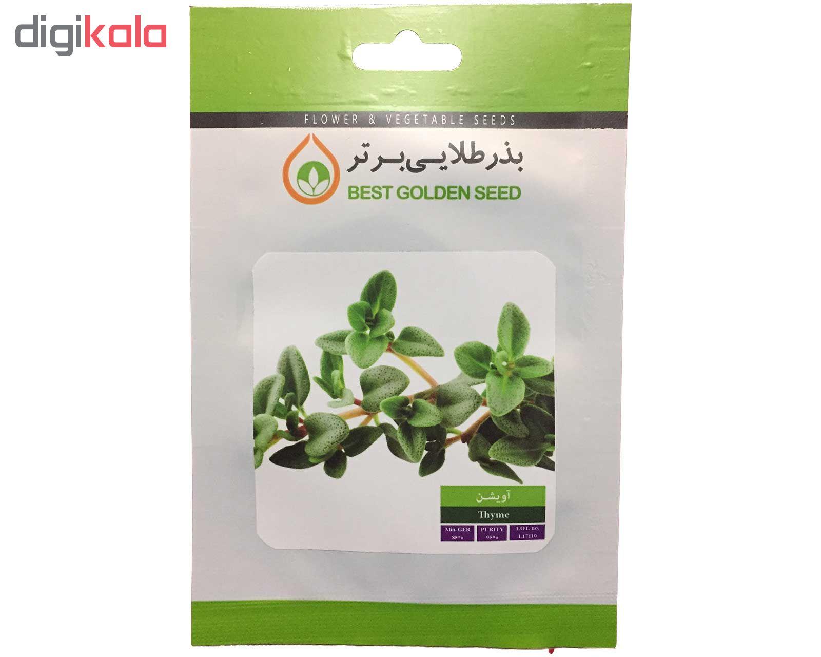بذر گیاه دارویی آویشن بذر طلایی برتر کد BZT-100 در بزرگترین فروشگاه اینترنتی جنوب کشور ویزمارکت