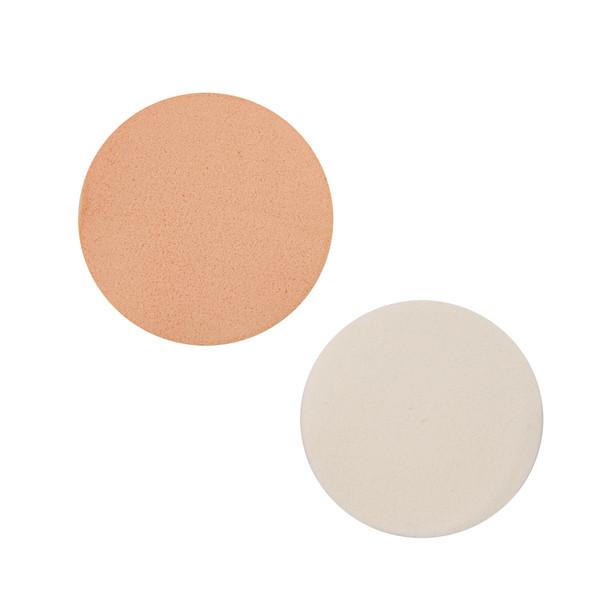 بسته 12 عددی پد های آرایشی مدل Cream and White