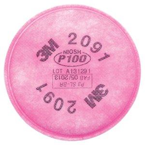 فیلتر ماسک تریام مدل 2091 p100  2 بسته 2عددی