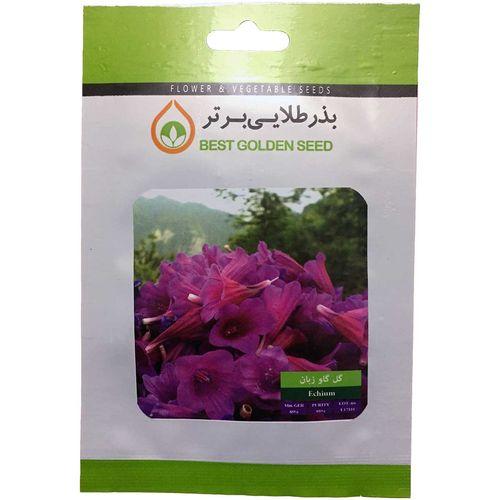 بذر گیاه دارویی گل گاو زبان بذر طلایی برتر کد BZT-106