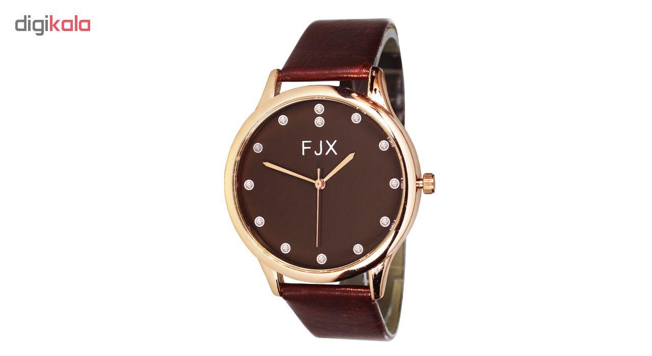 خرید ساعت مچی عقربه ای مردانه و زنانه اف جی ایکس مدل P5-3 | ساعت مچی