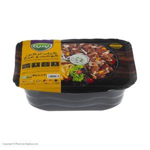جوجه کباب ترکی گوشت و مرغ پمینا مقدار 400 گرم