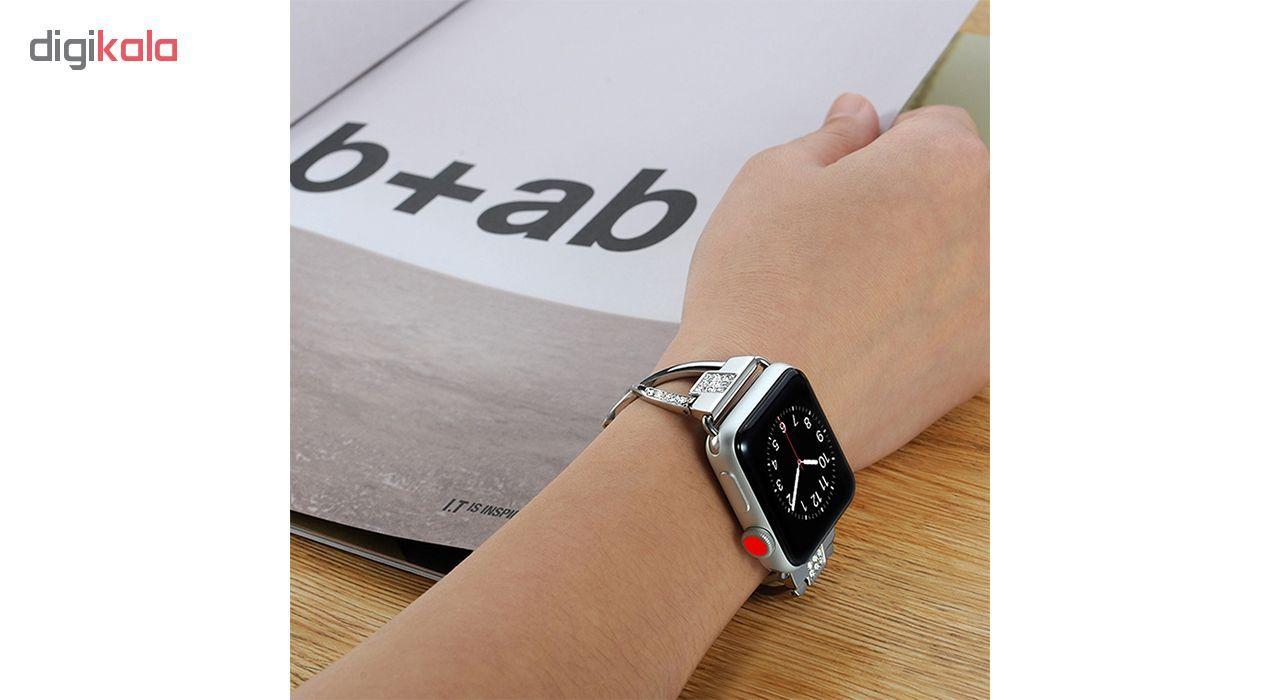 بند کوتتسی اپل واچ  مدل W18  مناسب برای اپل واچ 42 میلی متری main 1 6