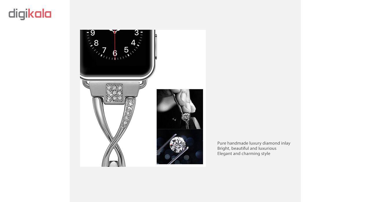 بند کوتتسی اپل واچ  مدل W18  مناسب برای اپل واچ 42 میلی متری main 1 9