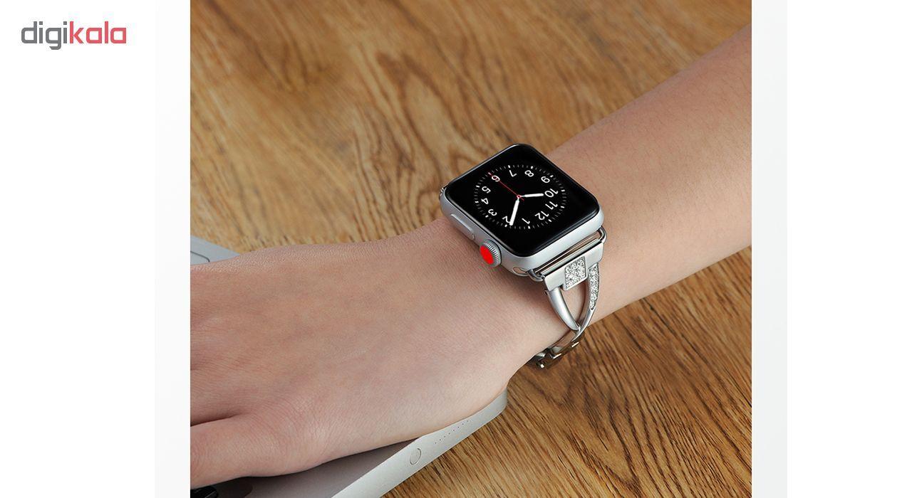 بند کوتتسی اپل واچ  مدل W18  مناسب برای اپل واچ 42 میلی متری main 1 10
