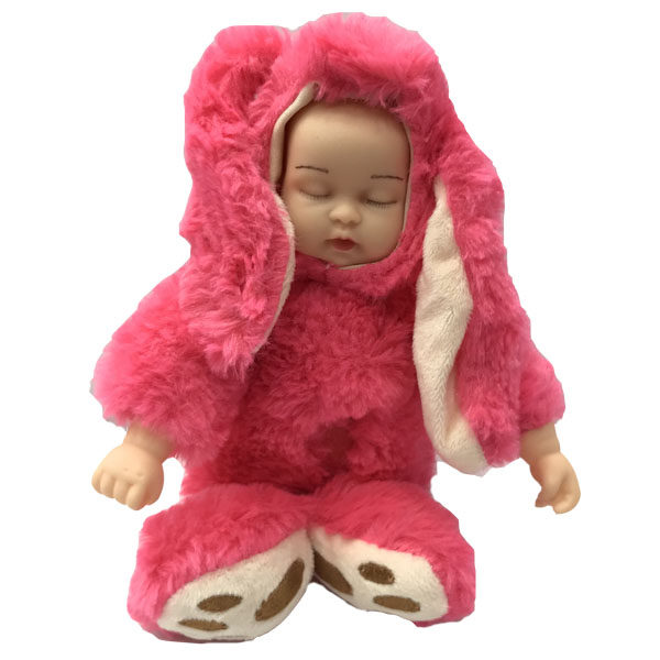 عروسک مدل نوزاد خرگوشی کد46 ارتفاع 25 سانتی متر