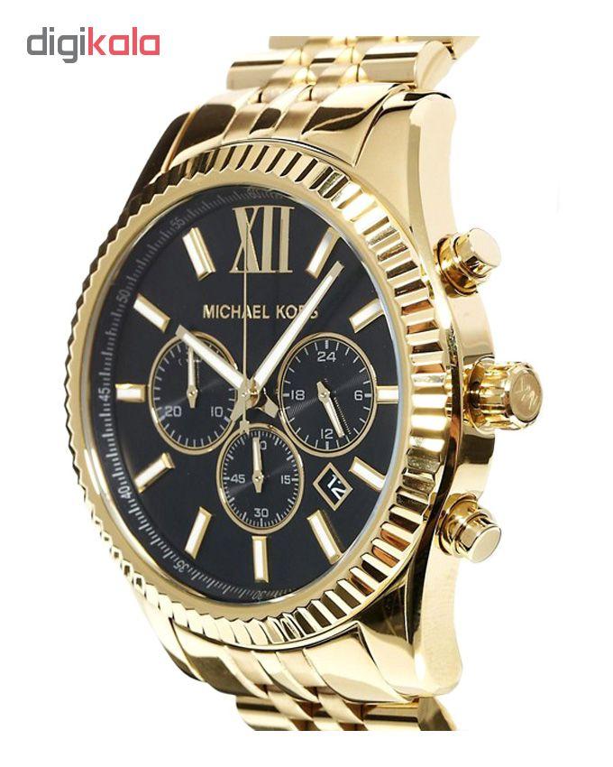 خرید ساعت مچی عقربه ای مردانه مایکل کورس مدل mk8286