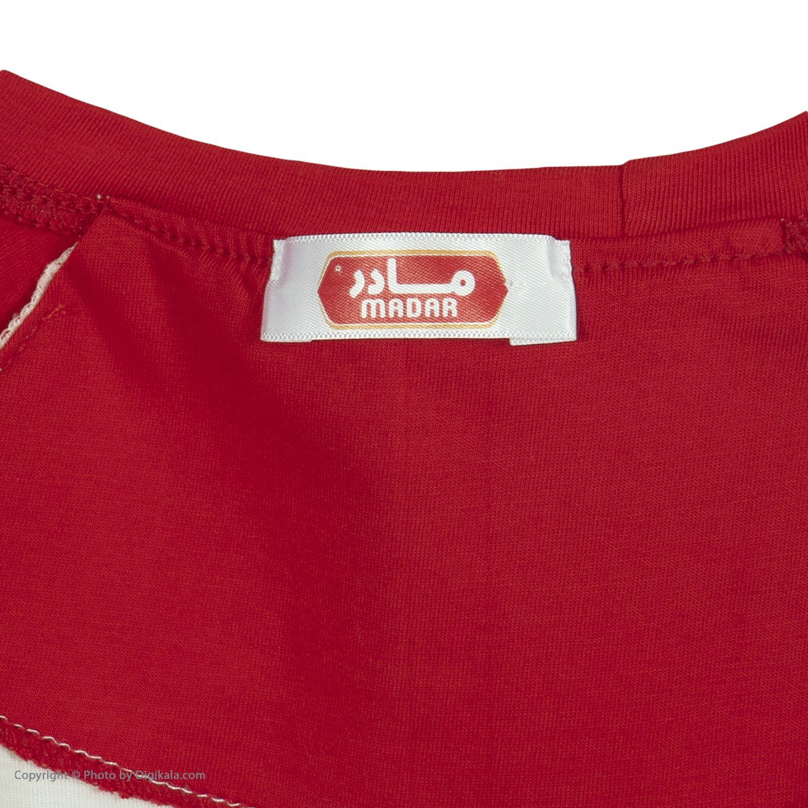 ست تی شرت و شلوارک راحتی مردانه مادر مدل 2041107-74 -  - 8