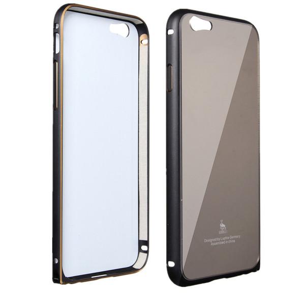 کاور و بامپر آینه ای لوفیه مدل Auii 6 مناسب برای گوشی موبایل اپل iPhone 6 plus/6 S plus