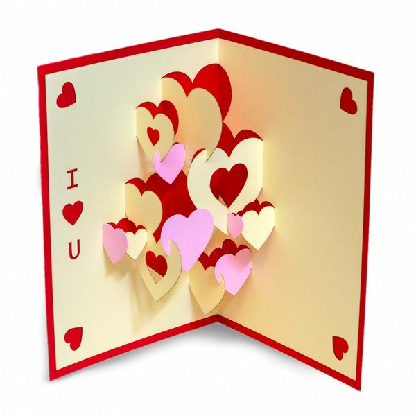 کارت پستال ارژنگ طرح عاشقانه کد CR024d