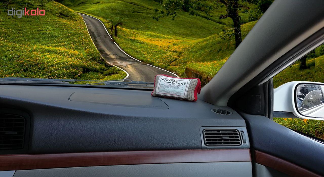 بوگیر سیگار و تصفیه کننده هوای خودرو مدل AROMA SILENT