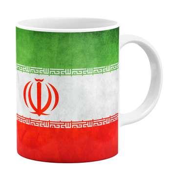 ماگ طرح پرچم ایران کد 778