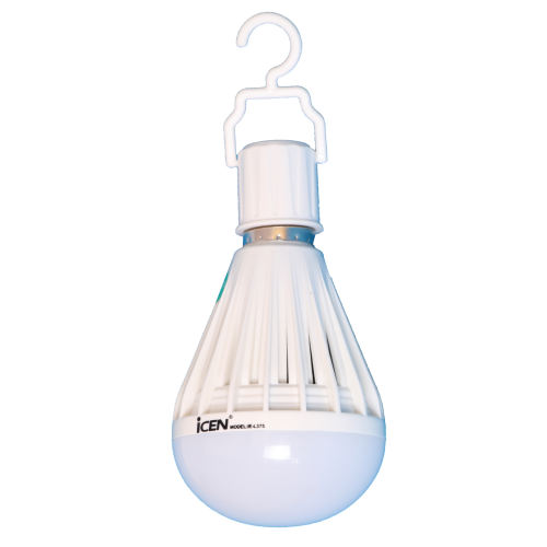 لامپ ال ای دی شارژی 10 وات ایسن مدل L375 پایه E27