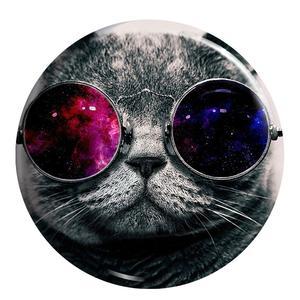 پیکسل طرح گربه عینکی کد MA134