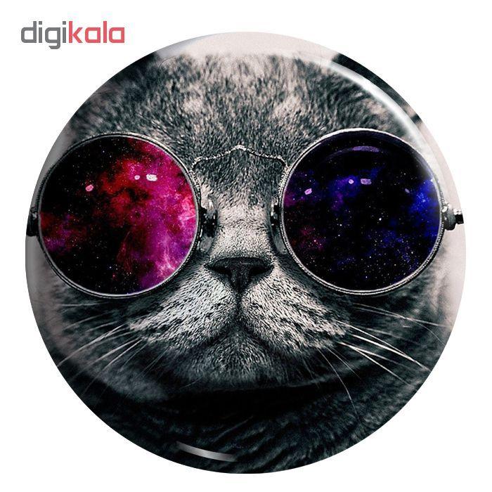 پیکسل طرح گربه عینکی کد MA134 main 1 1
