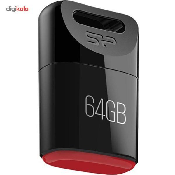 فلش مموری سیلیکون پاور مدل Touch T06 ظرفیت 64 گیگابایت