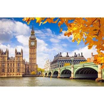 تابلو شاسی سری زیباترین عکس های جهان طرح برج بیگ بن لندن کد 135