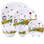 ست ظرف غذا کودک 5 تکه مدل نقاشی کودک thumb