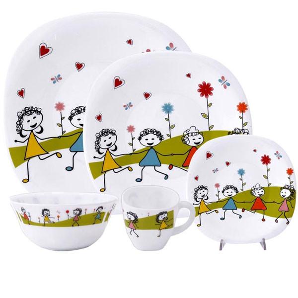 ست ظرف غذا کودک 5 تکه مدل نقاشی کودک