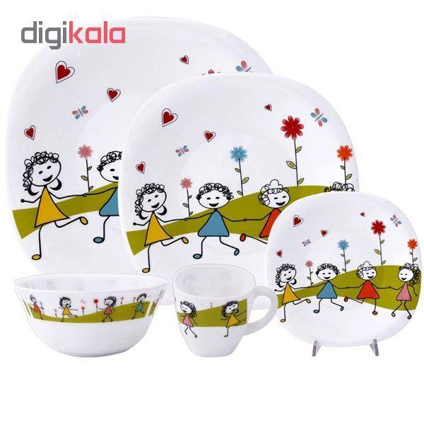 ست ظرف غذا کودک 5 تکه مدل نقاشی کودک main 1 4