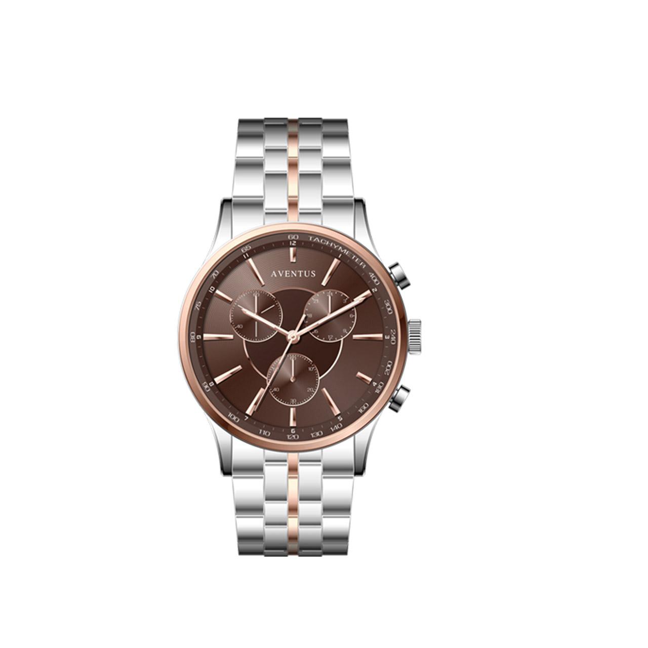 ساعت مچی عقربه ای زنانه اونتوس مدل 1348-6LBR 19