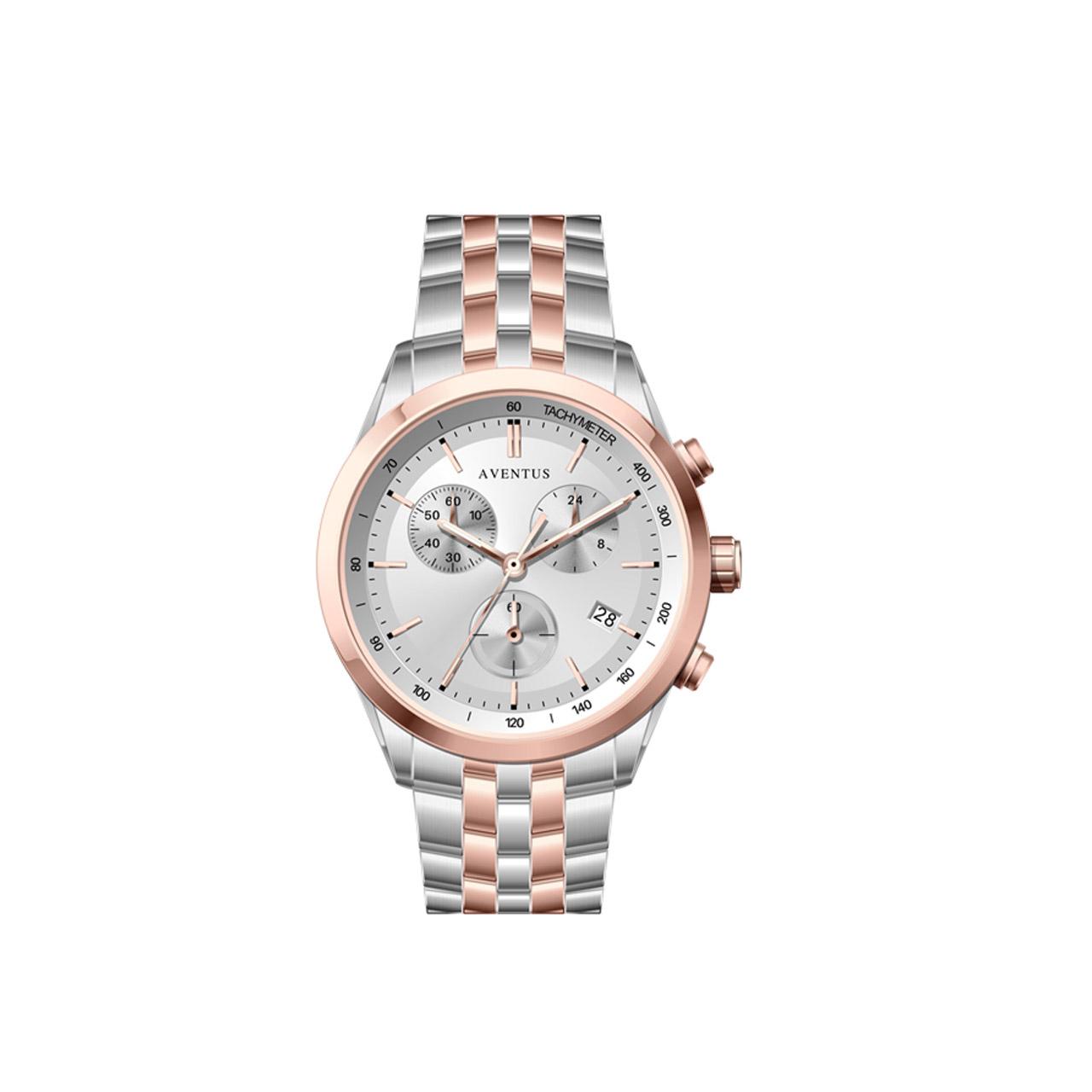 ساعت مچی عقربه ای زنانه اونتوس مدل 1351-6LWH 4