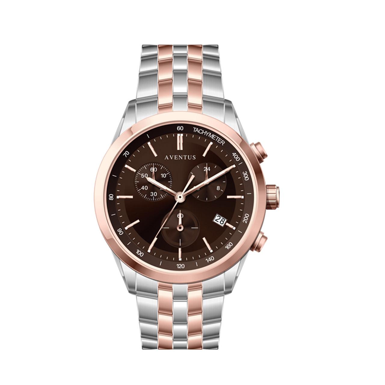 ساعت مچی عقربه ای زنانه اونتوس مدل 1351-6LBR