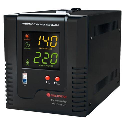 استابلایزر اتوماتیک تک فاز هوشمند ترانسی گلداستار توان 10kVA مدل LG-1P-10K-TA ( تثبیت کننده ولتاژ ظرفیت 10000VA ) دیجی کالا