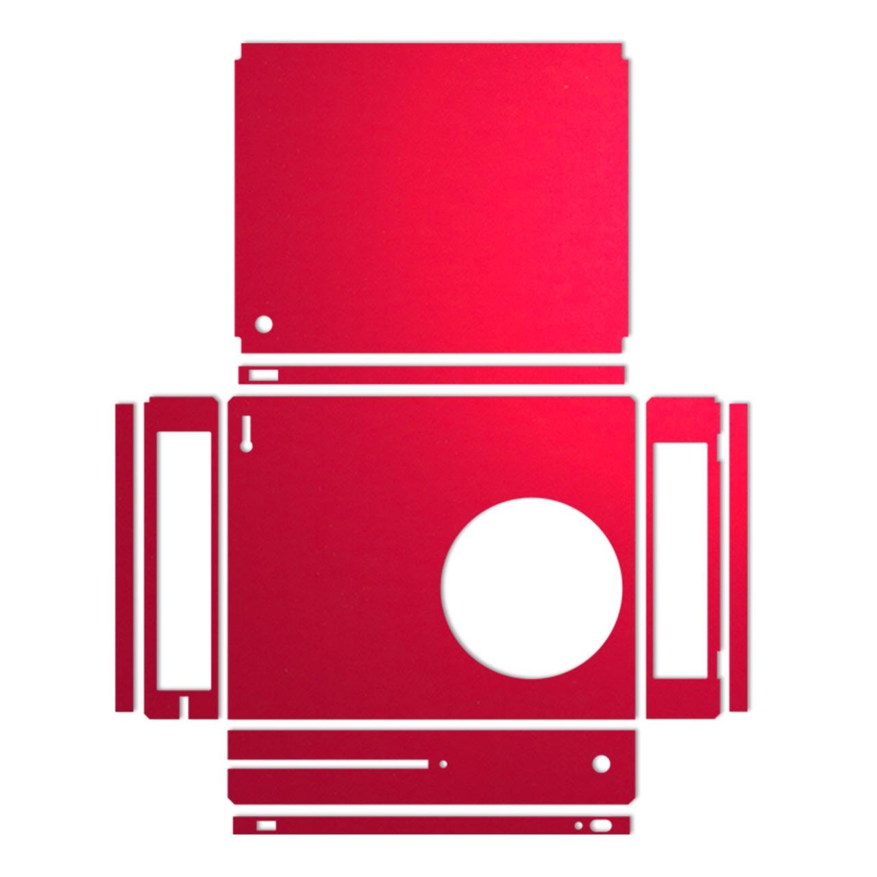 برچسب ماهوت مدلRed Color Special مناسب برای کنسول بازی Xbox One S