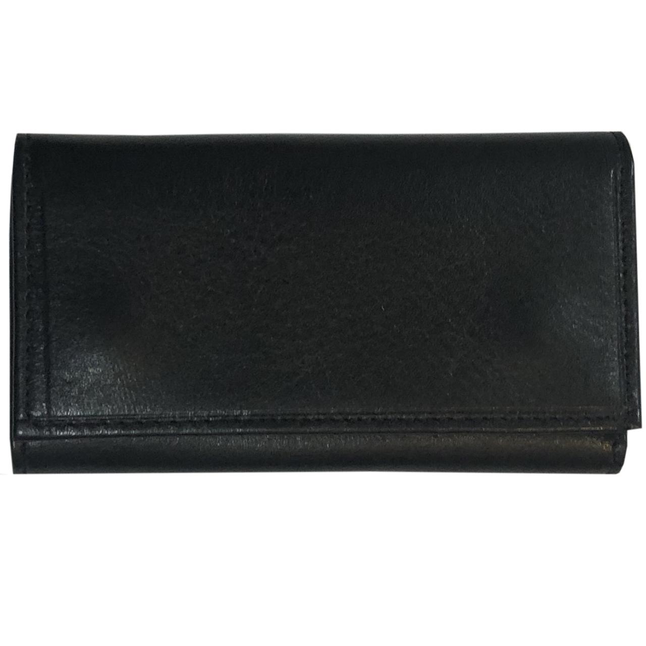 جا کلیدی چرم طبیعی – دست دوز مدل کلاسیک رنگ مشکی B&S Leather