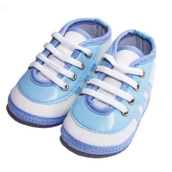 پاپوش نوزادی مدل BlueBoy رنگ آبی  