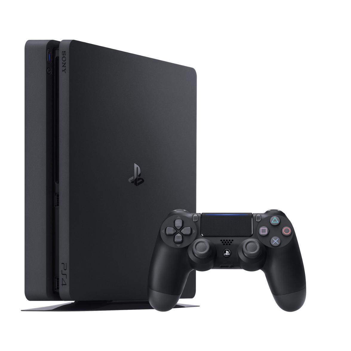 خرید                     کنسول بازی سونی مدل Playstation 4 Slim کد Region 1 CUH-2215B ظرفیت 1 ترابایت