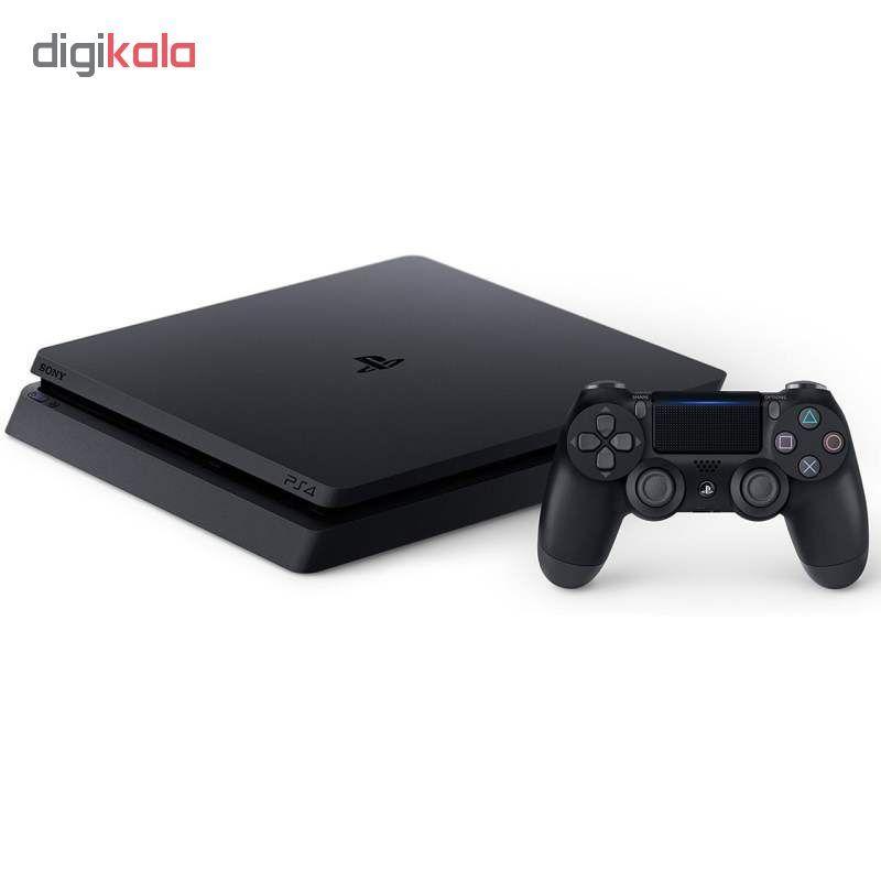 کنسول بازی سونی مدل Playstation 4 Slim کد Region 1 CUH-2215B ظرفیت 1 ترابایت main 1 1