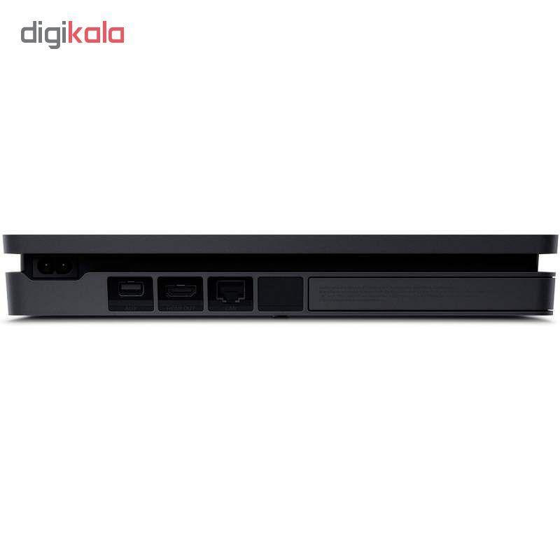 کنسول بازی سونی مدل Playstation 4 Slim کد Region 1 CUH-2215B ظرفیت 1 ترابایت main 1 2