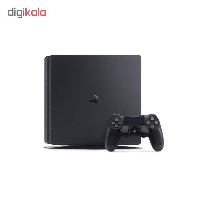 کنسول بازی سونی مدل Playstation 4 Slim کد Region 1 CUH-2215B ظرفیت 1 ترابایت main 1 3