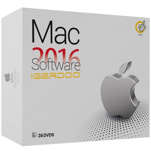 مجموعه نرم افزاری Mac 2016 iGerdoo نشر گردو