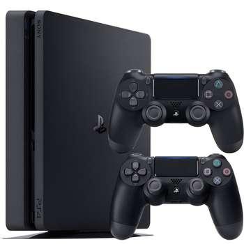 مجموعه کنسول بازی سونی مدل Playstation 4 Slim کد Region 1 CUH-2215B ظرفیت 1 ترابایت