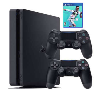 خرید پلی استیشن 4 اسلیم طرح Days of Play | یک ترابایت | Playstation 4 Slim 1TB Days of Play Limited Edition - R1 - CUH  2115B