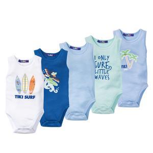 بادی نوزادی پسرانه لوپیلو کد 4492 مجموعه 5 عددی