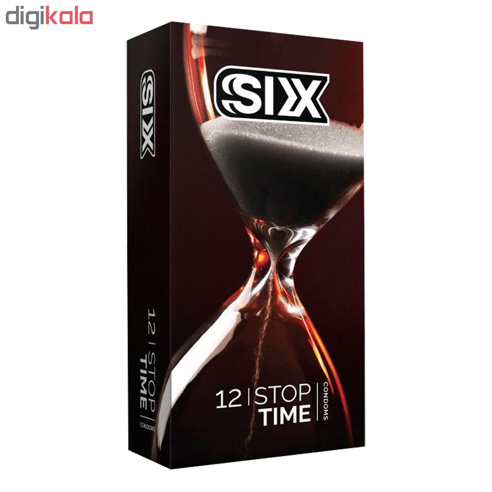 کاندوم سیکس مدل Stop Time بسته 12 عددی main 1 1